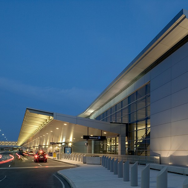 Logan international airport terminal a