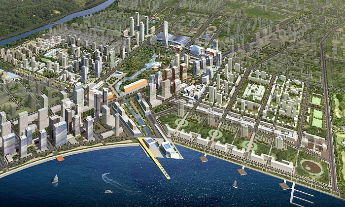 Songdo International Business District (IBD), Residential Blocks