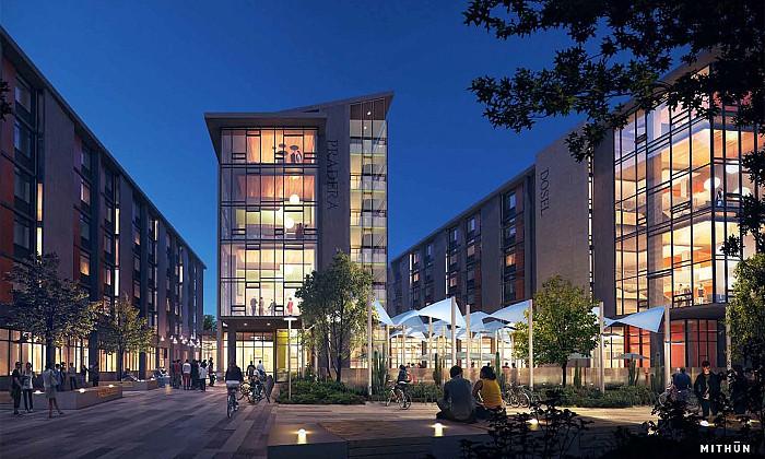 University of California, Irvine Mesa Court Expansion
